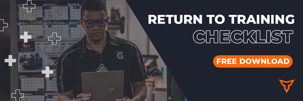 Return To Training Checklist_Small